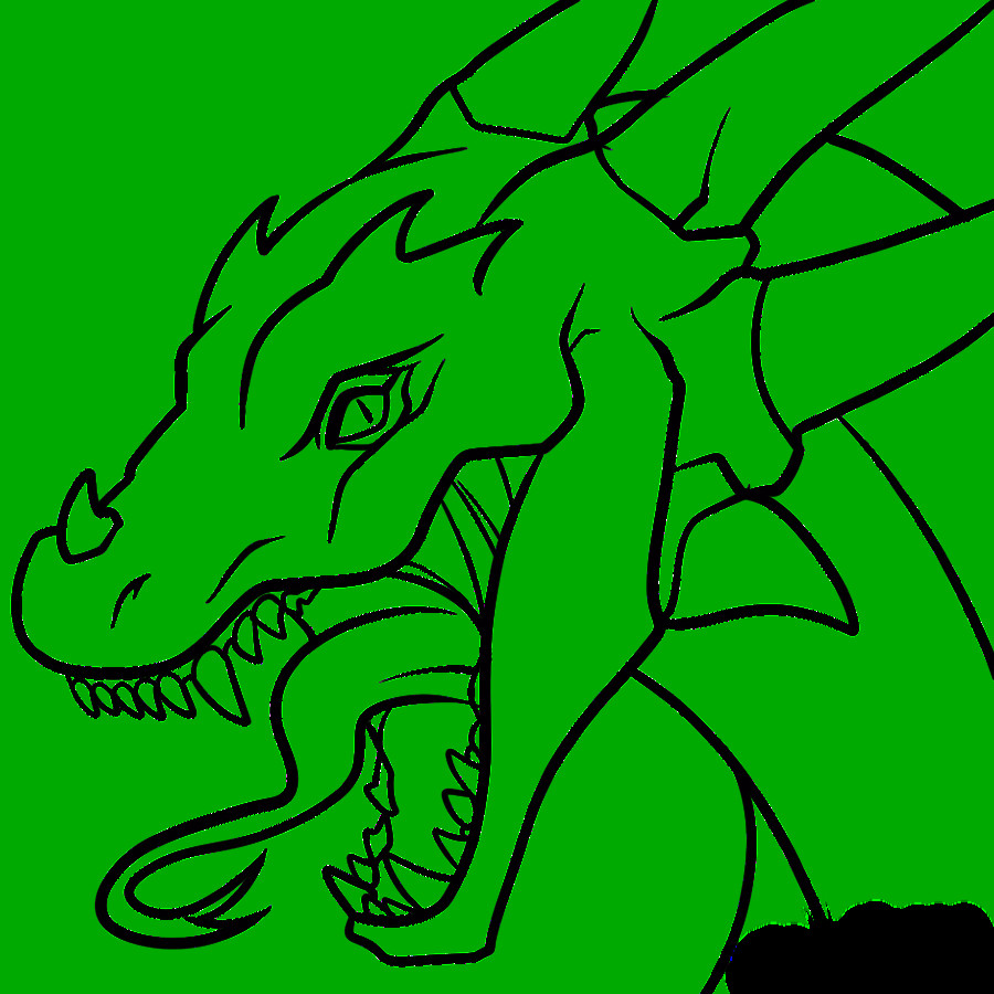 Dragon Tracing Pictures Dragon Head Transparent Lineart by Dawnieda On Deviantart
