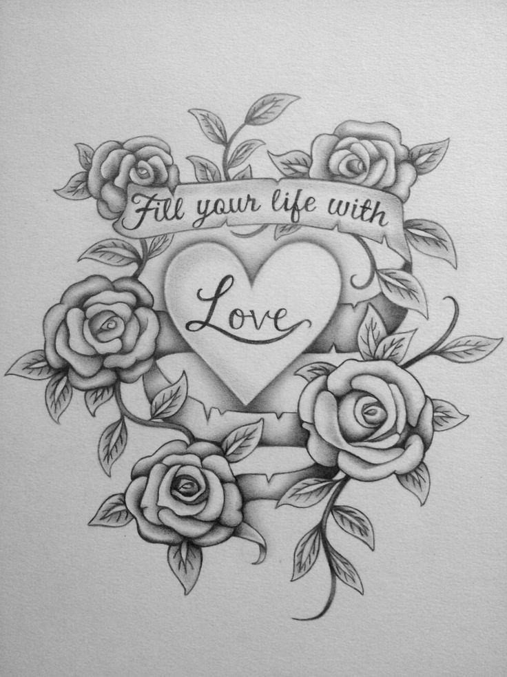 Drawing Pictures Of Love 27 Love Drawings Pencil Drawings Sketches