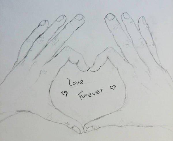 Drawing Pictures Of Love 9 Cute Love Drawings Jpg Download