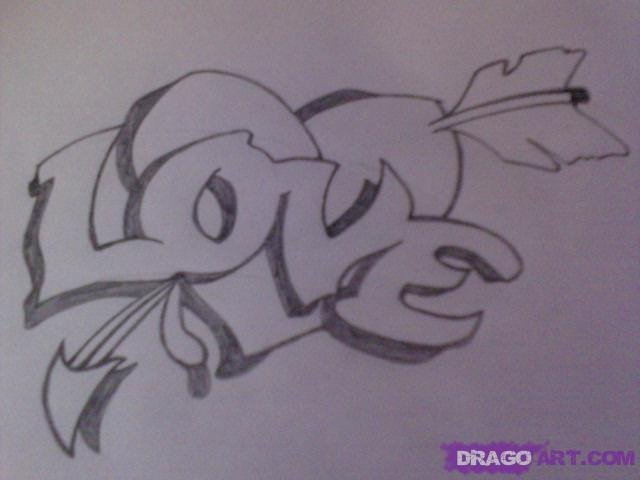 Drawing Pictures Of Love Draw A Love Tattoo Step by Step Drawing Sheets Added by