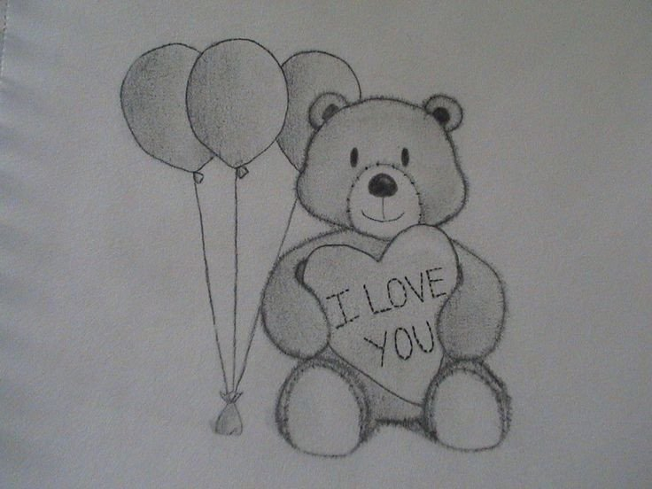 Drawing Pictures Of Love I Love You Drawings Love You Drawings for Him