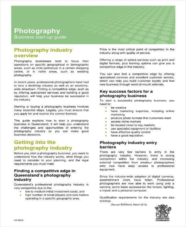 Drone Photography Business Plan 9 Drone Graphy Business Plan Templates Pdf Docs