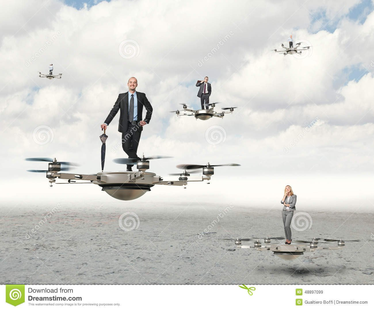 Drone Photography Business Plan Drone Business Stock Image