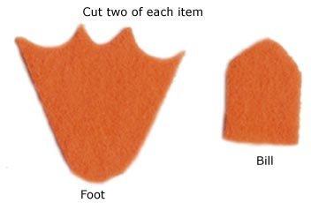 Duck Foot Template Duck Feet Drawing at Getdrawings