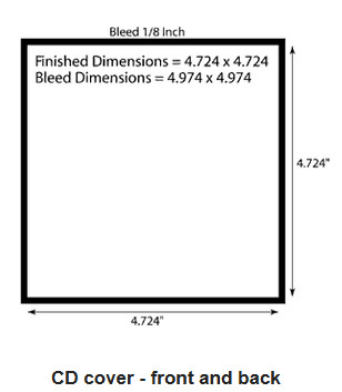 Dvd Case Dimensions Inches Cd Cover Size Specifications