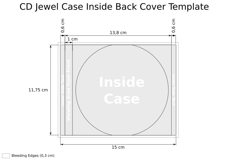 Dvd Case Dimensions Inches Vicky Cooper Cd Cover Template