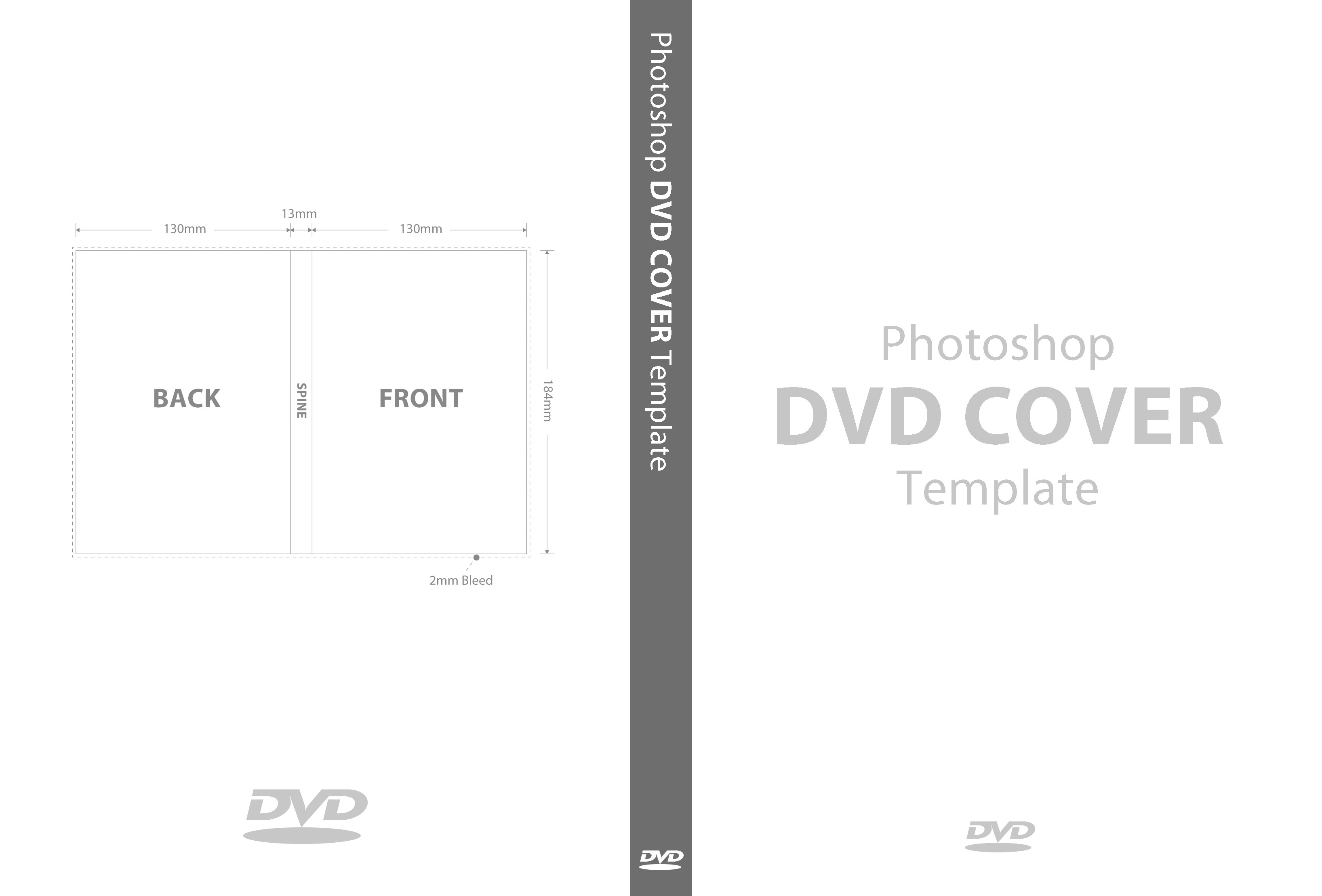 Dvd Cover Template Word Psd