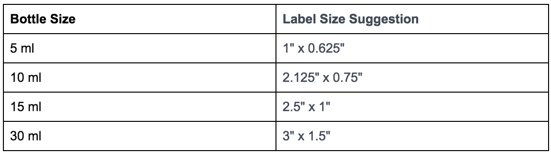 E Juice Bottle Label Template 4 Critical Factors for Your E Juice Label