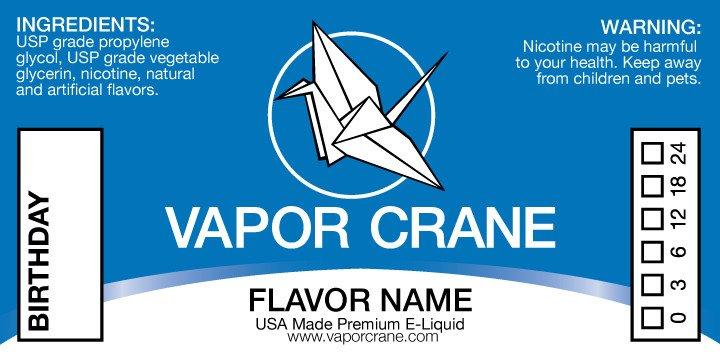 E Juice Bottle Label Template Vapor Crane E Liquid Branding On Behance