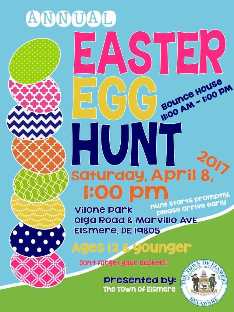 Easter Egg Hunt Flyer Easter Egg Hunt 2017 Flyer Bounce House