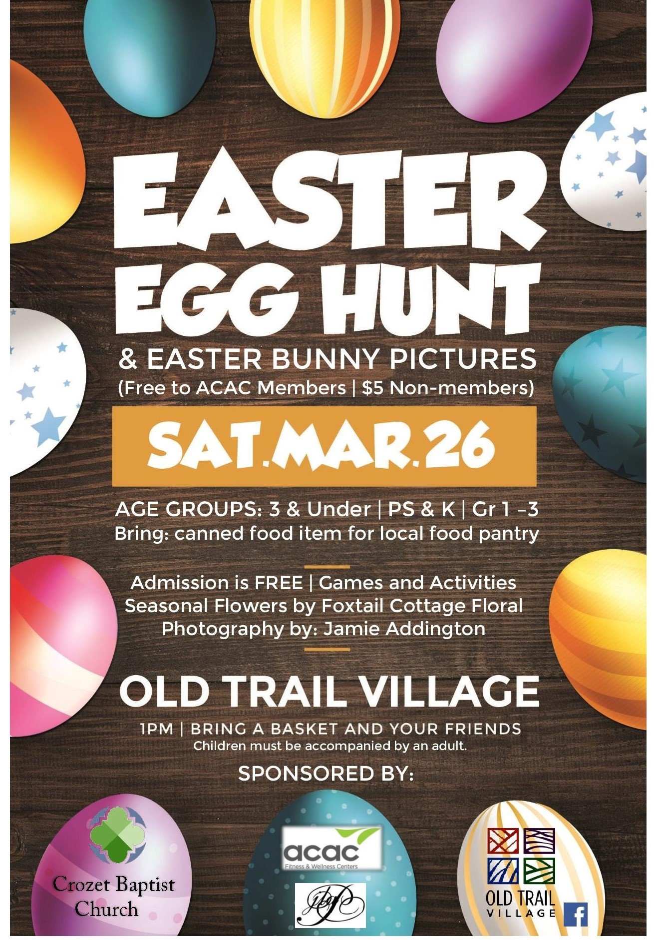 Easter Egg Hunt Flyer Easter Egg Hunt & Realcrozetva