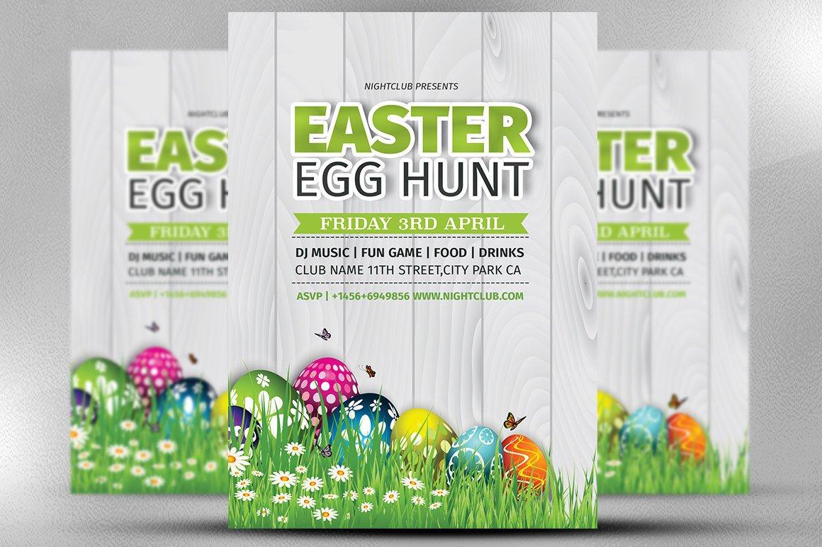 Easter Egg Hunt Flyer Easter Party Flyer Easter Egg Hunt Flyer Template Easter