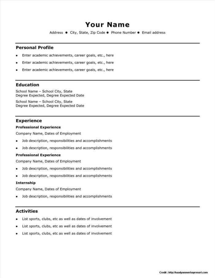 Easy Pickins Job Application Easy Family Bud Template Templates Resume Examples