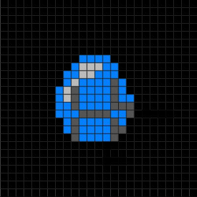 Easy Pixel Art Grid Minecraft 2d Pixel Art Ideas