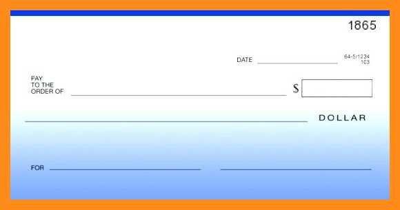 Editable Blank Check Template 12 13 Blank Cheque Template Editable