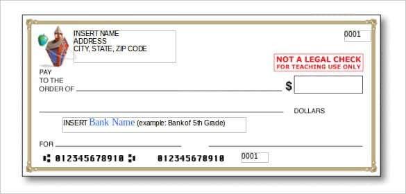 Editable Blank Check Template 24 Blank Check Template Doc Psd Pdf & Vector formats