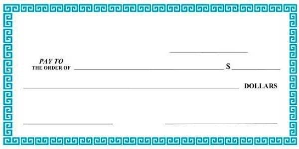 Editable Blank Check Template Giant Check Template Editable Download