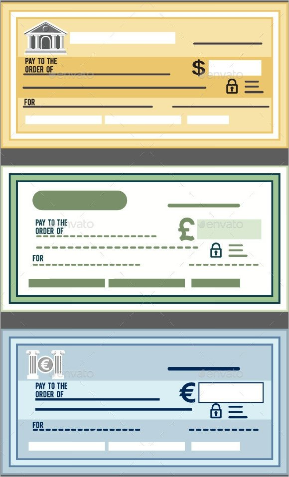 Editable Blank Check Template Sample Blank Cheque 5 Documents In Pdf Psd