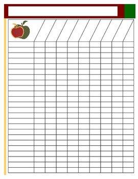 Editable Class List Blank Class Lists by Ce Upon A Creative Classroom
