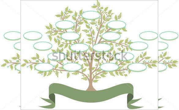 Editable Family Tree Template 11 Popular Editable Family Tree Templates & Designs