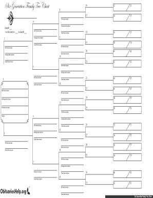 Editable Family Tree Template Fill Free Fillable Family Tree Template Blank or