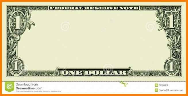 Editable Play Money Template 6 Editable Money Template