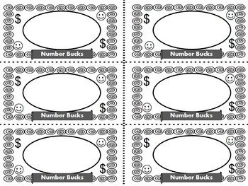 Editable Play Money Template Learning Loot Editable Classroom Cash by Myers Feisty