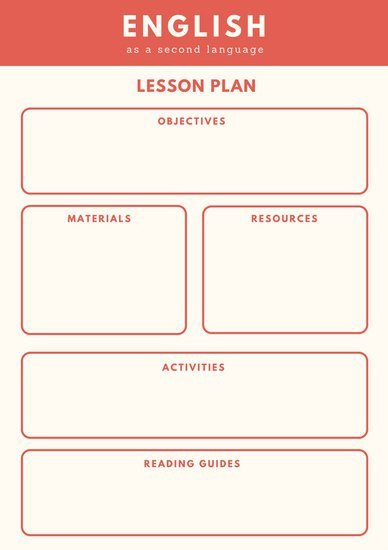 Eld Lesson Plan Template Customize 1 304 Lesson Plan Templates Online Canva