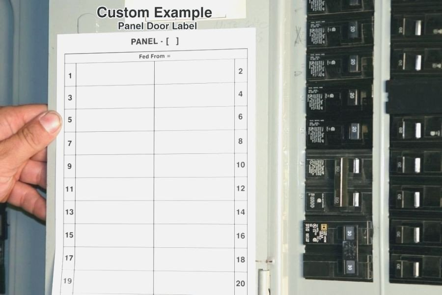 Electrical Panel Labels Template top 41 Amazing Free Printable Circuit Breaker Panel Labels