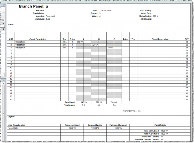Electrical Panel Schedule Excel Template Circuit Breaker Panel Schedule Template to Pin On