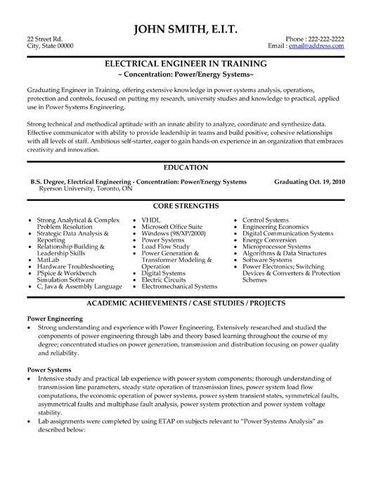 Electrician Resume Template Microsoft Word 10 Best Best Electrical Engineer Resume Templates