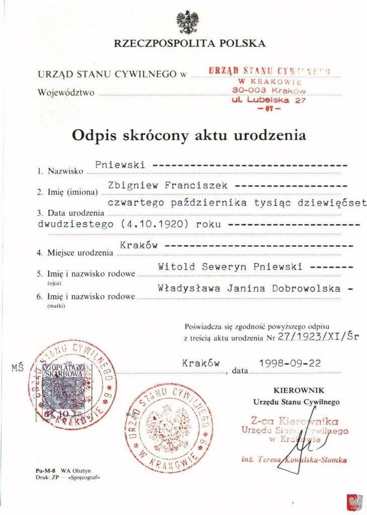 Element Birth Certificate Birth Certificate