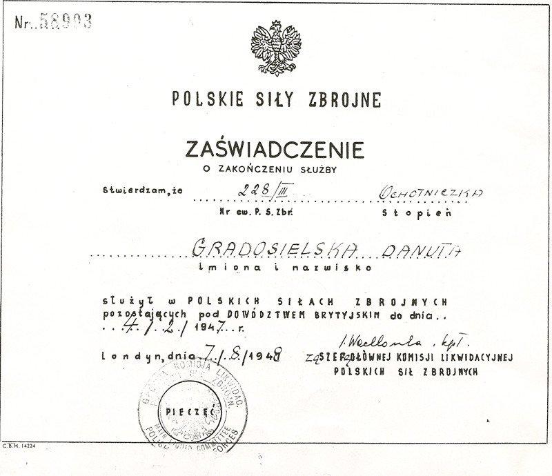 Element Birth Certificate Danutas Maczka's Birth Certificate English