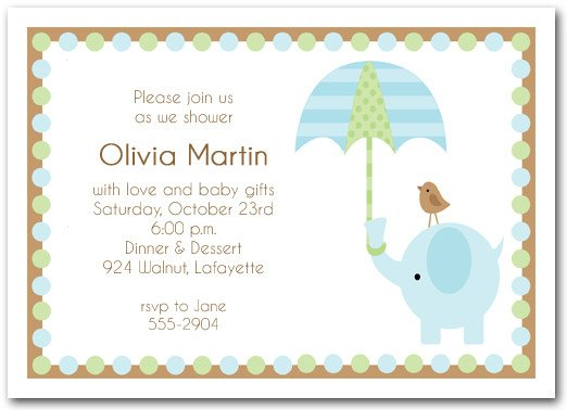 Elephant Baby Shower Invitation Templates How to Throw Elephant Baby Shower theme