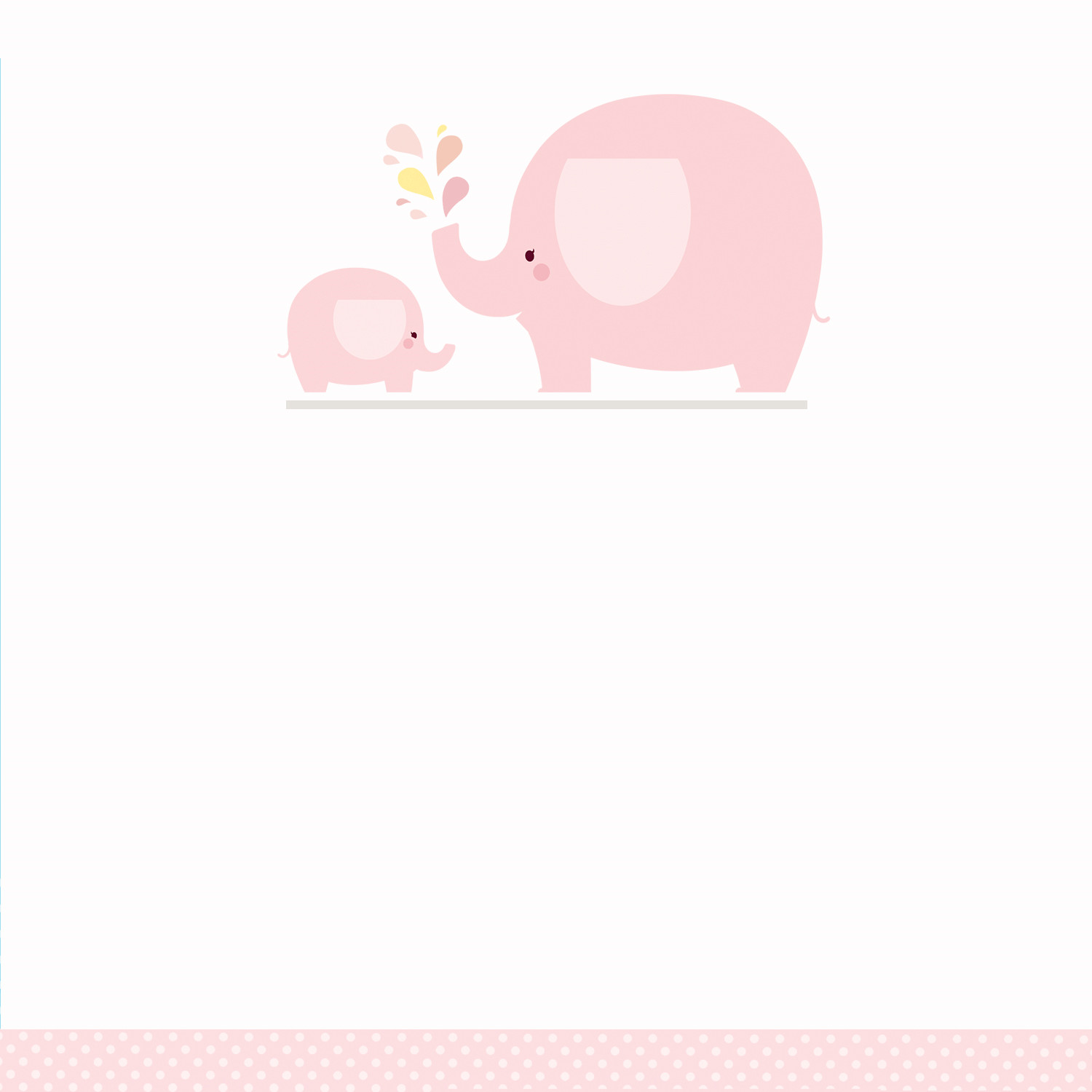 Elephant Baby Shower Invitation Templates Pink Baby Elephant Free Printable Baby Shower Invitation