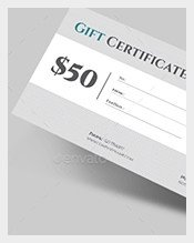 Email Gift Certificate Template Gift Certificate Template – 128 Free Word Pdf Psd Eps