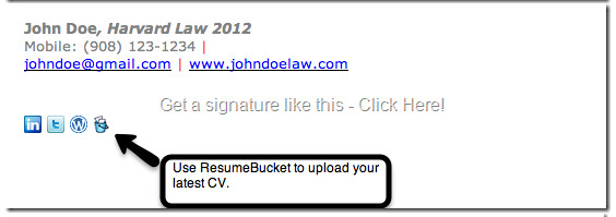 Email Signature College Student College Student Email Signature Example