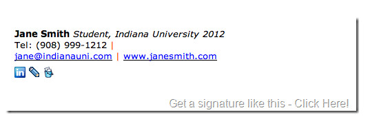 Email Signature College Student Email Signature for College Students Wisestamp Email Goo S