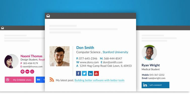 Email Signature College Student Email Signature for Email Signature for College Students 5