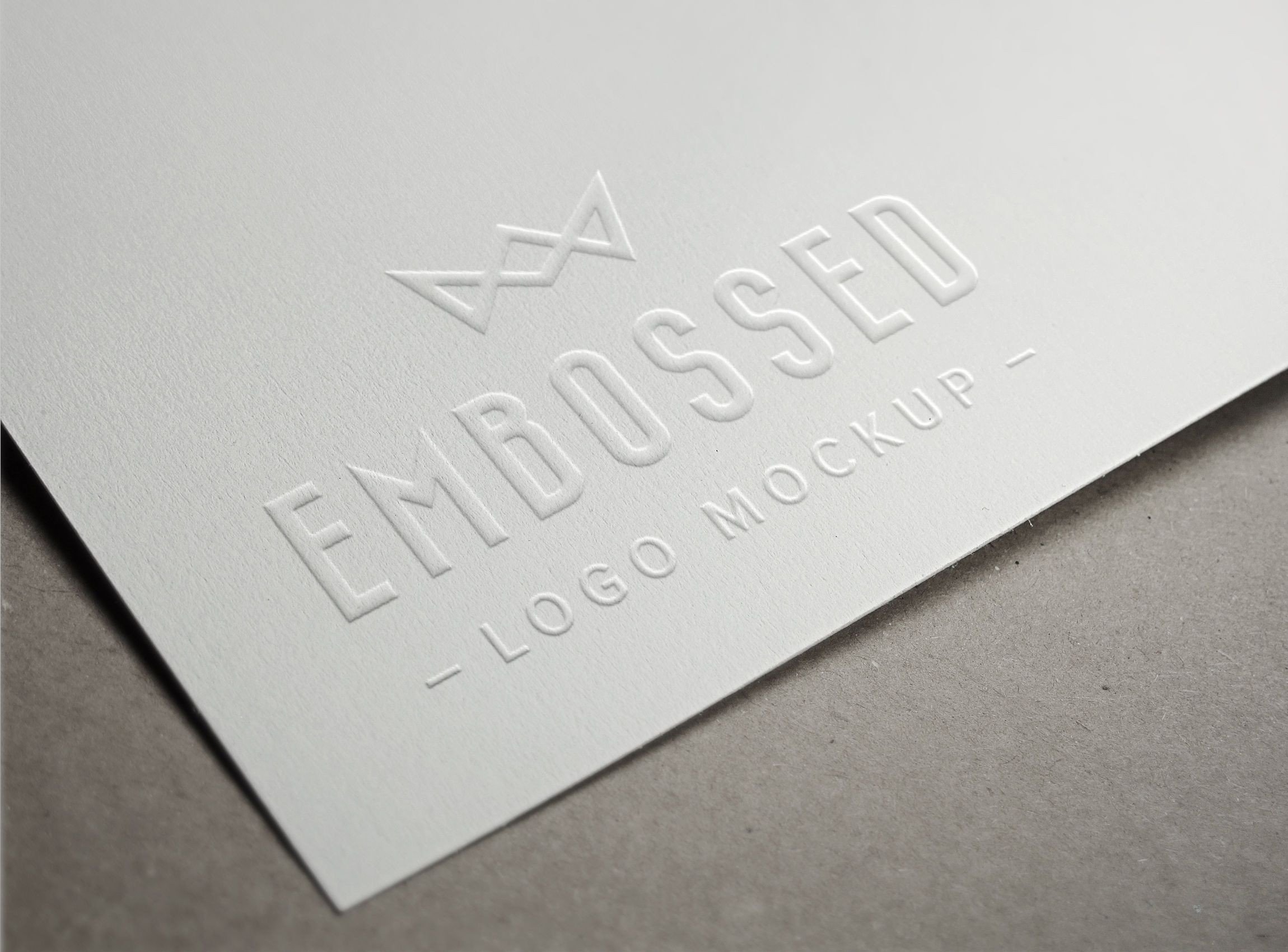 Embossed Business Card Mockup This Psd Mock Up Creates An Embossing Effect Into the