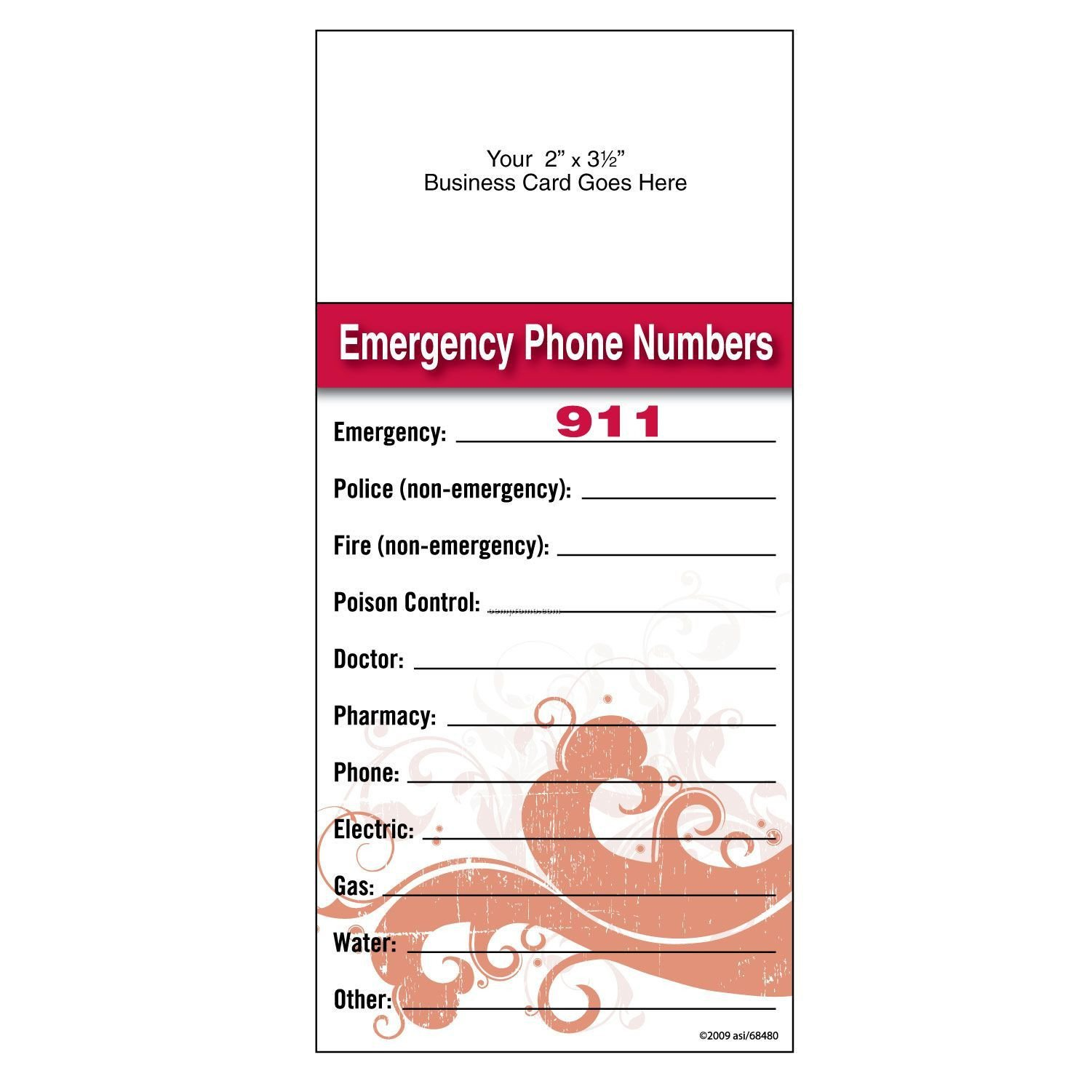 Emergency Phone Numbers Template Food Storage Basics and Beyond First Aid Kit Idea