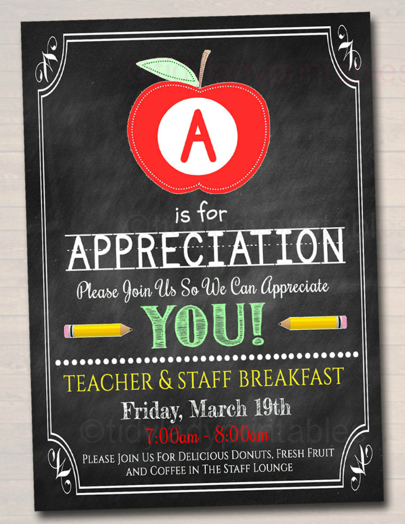 Employee Appreciation Day Flyer Template 16 Appreciation Flyer Designs & Templates Psd Ai