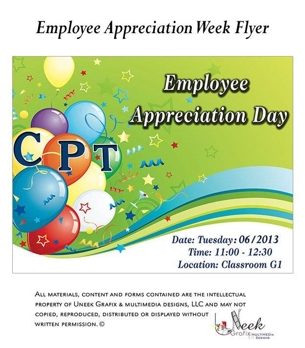Employee Appreciation Day Flyer Template 7 Best Of Employee Lunch Flyer Template Employee