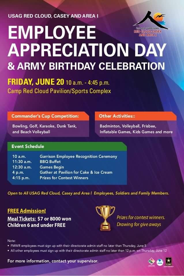 Employee Appreciation Day Flyer Template Employee Appreciation Day Flyer Template to Pin