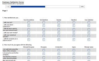 Employee Satisfaction Survey Template Employee Surveys Hr Surveys