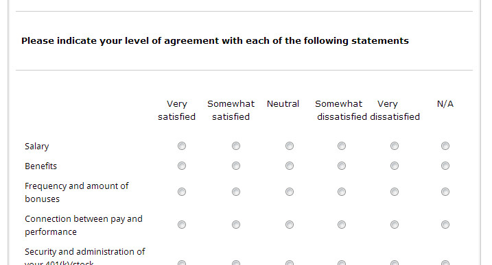 Employee Satisfaction Survey Template Template Highlight Employee Satisfaction Survey