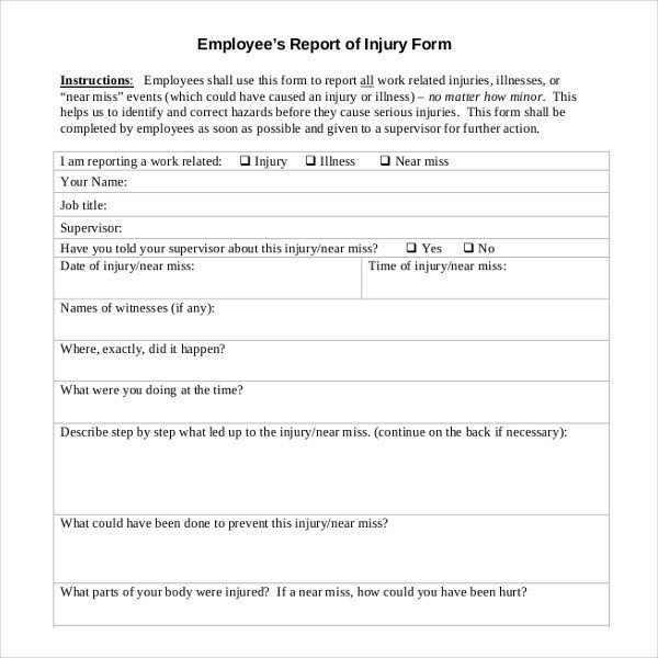 Employee Write Up Templates Employee Write Up Template