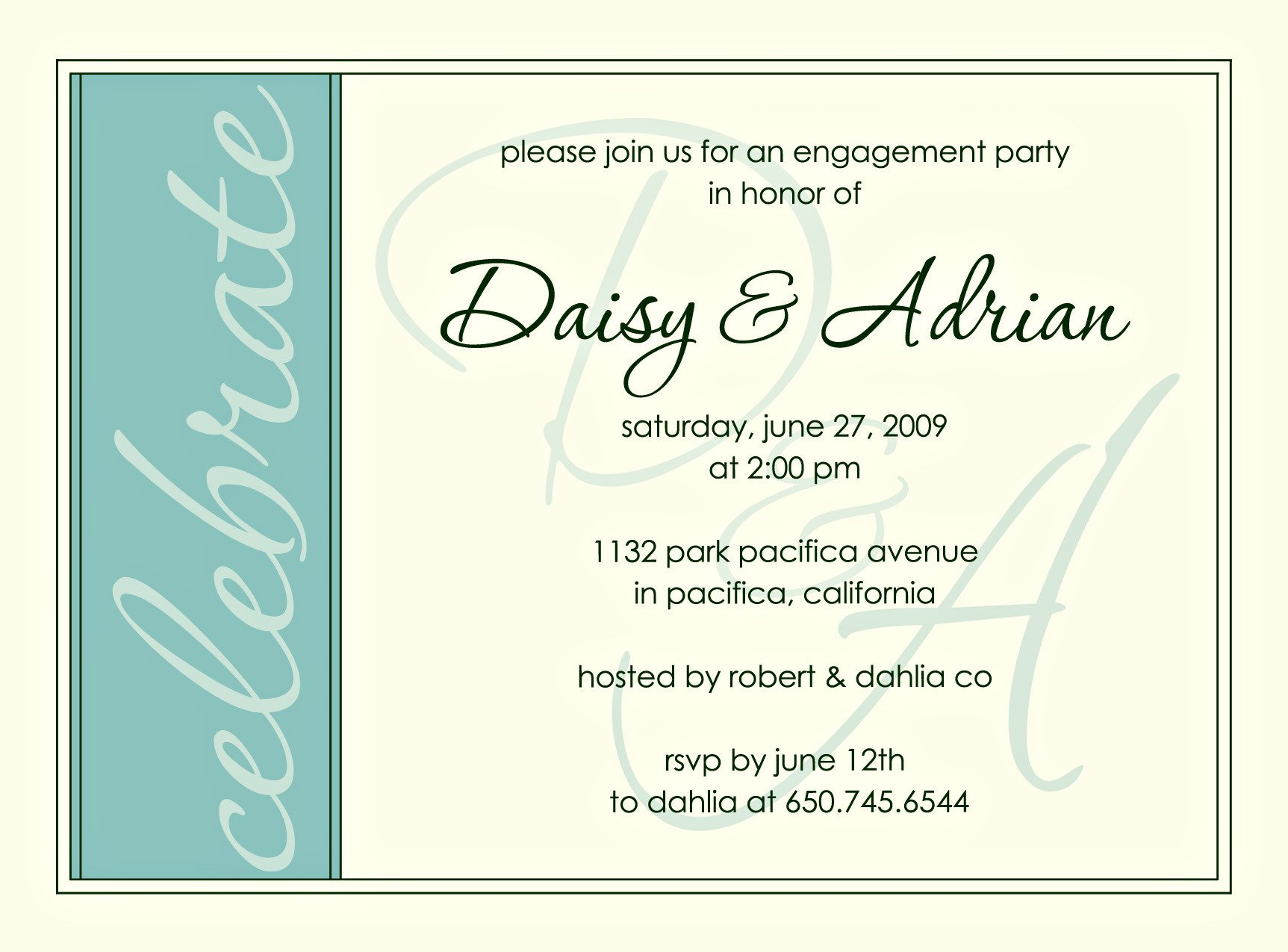 Engagement Party Invitations Templates Engagement Invitations Engagement Party Invitation