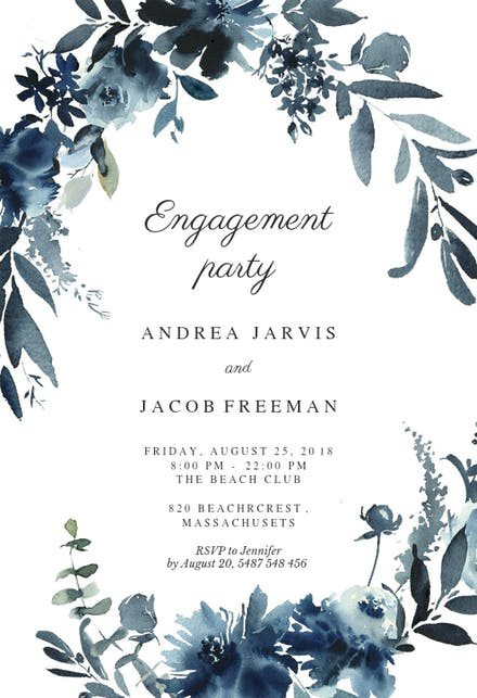 Engagement Party Invitations Templates Engagement Party Invitation Templates Free
