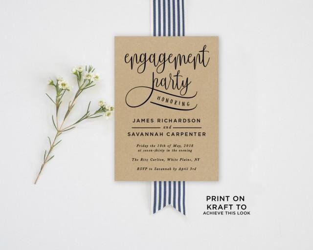 Engagement Party Invitations Templates Invitation Engagement Party Invitation Template